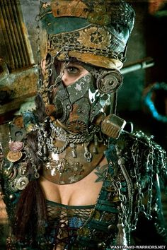 Miro Vuicic's post in Steampunk Tendencies Steampunk Costume, Steampunk Clothing, Steampunk Fashion, Larp Fashion, Post Apocalyptic Costume, Post Apocalyptic Fashion, Apocalypse Costume, Apocalypse Fashion, Wasteland Warrior