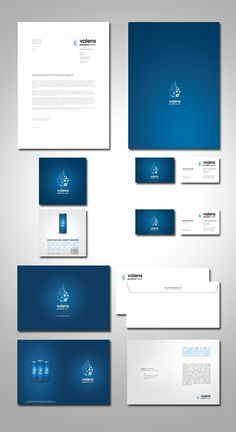 valens Energy Drink - Identity by Maxime Quoilin, via Behance