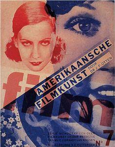 By Piet Zwart, 1 9 3 2, Dutch film periodical cover.