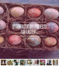 12 #Fantastic DIY Projects for Easter ... - #Lifestyle