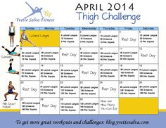 Thigh Challenge For April 2014