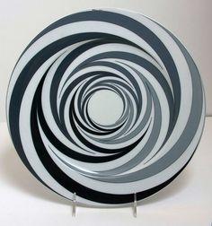 Morandini - Op Art plate for Rosenthal | eBay