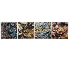 "Mother Earth 50"" Wide Contemporary Metal Wall Art 