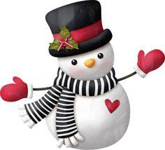 "Photo from album ""Winter Wonderland"" on Yandex. Christmas Clipart, Christmas Snowman, Christmas Holidays, Christmas Crafts, Christmas Decorations, Christmas Ornaments, Sock Snowman, Cute Snowman, Snowmen"