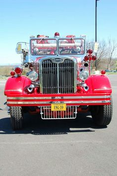 .Autocar Fire Engine #Setcom