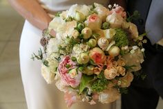 "Flower Design Events: An ""Under the Sea"" Theme Wedding Bouquet"