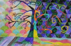 Check out student artwork posted to Artsonia from the Fantasy Tree project gallery at Howe Middle School.