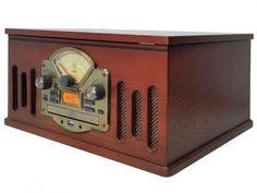 Vitrola CTX Scala CD Player MP3 USB - Rádio FM com as melhores condições você encontra no Magazine Sualojaverde. Confira!