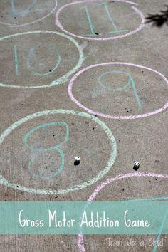10 Outdoor Math Activities: Kid's Co-op ~ Reading Confetti
