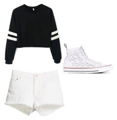 """""""Movies ready"""" by brianna-2411 on Polyvore featuring STELLA McCARTNEY and Converse"""