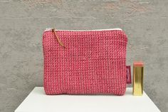 Small Zipper Pouch, Zipper Bags, Japanese Apron, Travel Necessities, Pencil Bags, Black Tote Bag, Craft Supplies, Coin Purse, Handmade Items