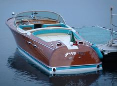 La Collezione Riva d'Epoca - Bellini Nautica Wooden Speed Boats, Wooden Model Boats, Wood Boats, Classic Wooden Boats, Classic Boat, Riva Boot, Riva Yachts, Boating Holidays, Big Girl Toys