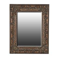 Verona Antiqued Gold Mirror http://www.la-maison-chic.co.uk/Item/Verona-Antiqued-Gold-Mirror