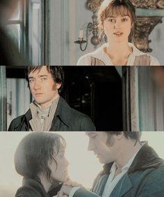 Mr. Darcy ❤️❤️  Elizabeth Bennet  #prideandprejudice