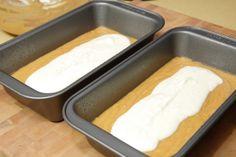 Pumpkin Bread w/ Cream Cheese Filling