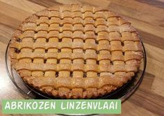 Abrikozen linzenvlaai | Jolanda's Bakhuisje Dutch Recipes, Raw Food Recipes, Cake Recipes, Snack Recipes, Dessert Recipes, Snacks, Sweet Pie, Cupcake Cookies, Cupcakes