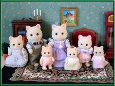 Cream Cat Family