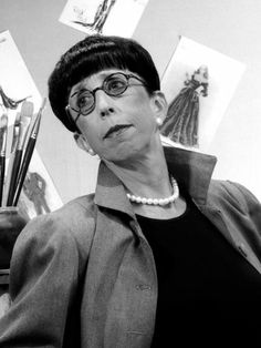 Ms. Edith Head was the absolute MOST.