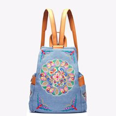Pas cher Folk art main broderie et brodé avec les caractéristiques de la couleur du sac à dos sac sac sac de voyage, Acheter  Sac à dos de qualité directement des fournisseurs de Chine: Merci pour votre patronage, Taille informations, s'il vous plaît se référer à la table ci-dessous, si il n'y a
