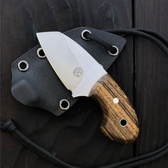 Andreas Kalani » IVAR – Bocote Knives And Tools, Knives And Swords, Neck Knife, Utility Knife, Fixed Blade Knife, Knife Making, Everyday Carry, Kitchen Knives, Blacksmithing
