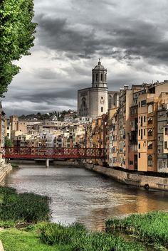 Gerona, Catalonia, İspanya