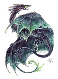 Acidic Leaf Dragon by Sysirauta @DeviantArt