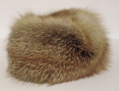 Wild Red Fox Fur Winter Hat. This is a one off, handcrafted hat from the fur of wild Red Fox, sourced from the medieval forests of Europe.