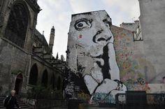 Église Saint-Merri e murales #Parigi - Foto di Alessandra Salati