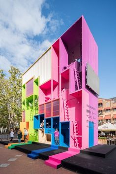 MVRDV Designs Colorful Hotel Architecture at Dutch Design Week | Architecture. Modern architecture from leading top architects | www.bocadolobo.com #bocadolobo #luxuryfurniture #architecture #modernarchitecture #contemporaryarchitecture #sustainablearchitecture #modern #sustainable #buildings #projects #architectural #arch #house #modernhouse #housedesign #residentialproject #hotel#mvrdv #modernarchitecturehotel