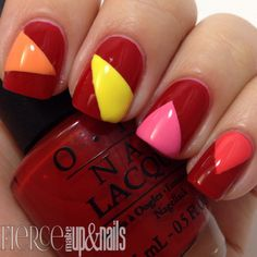 The Digit-al Dozen Brands Week- OPI Brazil Tape Mani - Fierce Makeup and Nails