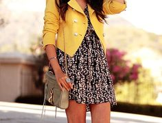 cute way to style up a dress in summer