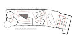 CAD Plan - exhibition route