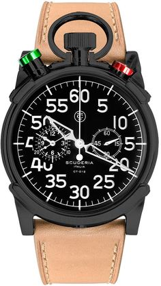 CT Scuderia Watch Corsa Chronograph #bezel-fixed #bracelet-strap-leather #brand-ct-scuderia #case-depth-13mm #case-material-black-pvd #case-width-44mm #chronograph-yes #classic #delivery-timescale-4-7-days #dial-colour-black #gender-mens #movement-quartz-battery #official-stockist-for-ct-scuderia-watches #packaging-ct-scuderia-watch-packaging #style-sports #subcat-corsa #supplier-model-no-cs20105 #warranty-ct-scuderia-official-2-year-guarantee #water-resistant-100m
