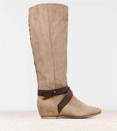 Hidden Wedge Riding Boot