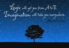 """""""Logic will get you from A to B. #Imagination will take you everywhere."""" -Albert Einstein www.TMEmarketing.com"""