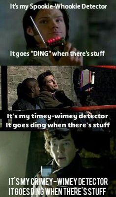 """""""It goes 'ding' when there's stuff"""