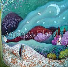 amanda clark artist | Art print titled The Dream, from an original painting by Amanda Clark