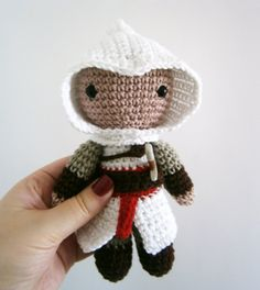 Hey, I found this really awesome Etsy listing at https://www.etsy.com/listing/177273252/amigurumi-altair-assassins-creed-crochet