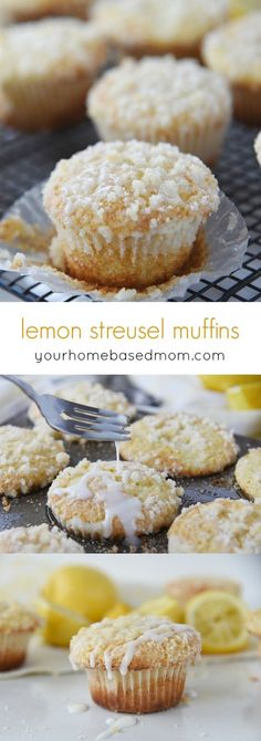 Lemon Streusel Muffins Recipe - These wonderful treats are light, lemony and delicious!