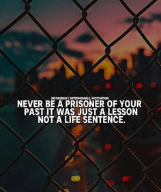 Positive Quotes : QUOTATION – Image : Quotes Of the day – Description Never be a prisoner of your past.. Sharing is Power – Don't forget to share this quote ! https://hallofquotes.com/2018/04/13/positive-quotes-never-be-a-prisoner-of-your-past-2/