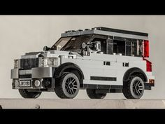 How To Build A Lego City Volvo Xc90 Car Moc Instructions Tutorial Youtube City Vehicles Lego City Volvo