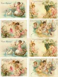 Free Collage Sheets For Pendants Collage Sheets Vintage Labels, Vintage Ephemera, Vintage Cards, Vintage Postcards, Decoupage Vintage, Vintage Pictures, Vintage Images, Etiquette Vintage, Decoupage Printables