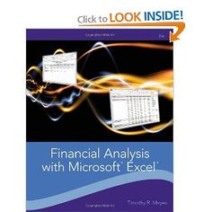 I'm selling Financial Analysis with Microsoft Excel, 6e, Ebook PDF - $24.99 #onselz
