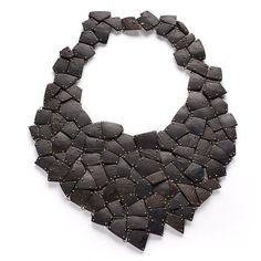 Necklace, coconut, silver by Shirly Lay (Indonesia) on http://www.alchimia.it/english/gallery.htm