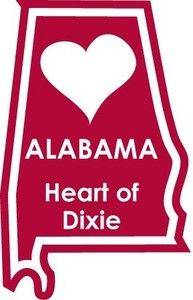 Alabama, Heart of Dixie