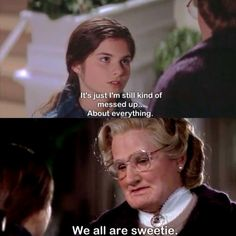 Mrs. Doubtfire <3 Robin Williams <3