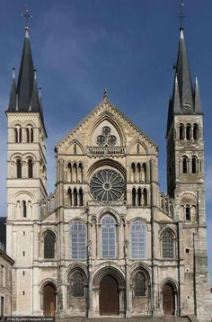 Abbey of Saint Remi - Cathedral of Notre Dame - France