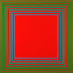 Richard Anuszkiewicz - Infrared, 1980 - Acrylic on Canvas, 30 x 30 in… Op Art, Kinetic Art, Photo Projects, Color Theory, Community Art, Photo Manipulation, Artsy Fartsy, Art Inspo, Concept Art
