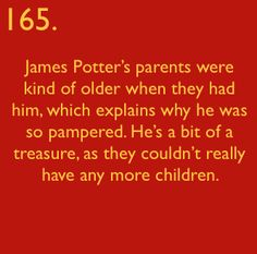 Harry Potter Facts: #165