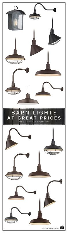 Barn Lighting includes vintage inspired pendants, wall lights, and outdoor fixtures. Basket Lighting, Barn Lighting, Exterior Lighting, Home Lighting, Outdoor Lighting, Lighting Ideas, Kitchen Lighting, Ceiling Lighting, Tulips